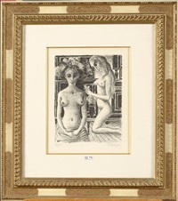 phryne by paul delvaux