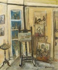 intérieur d'artiste by isaac antcher