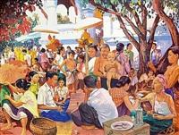 la fête du pimay au vat ong tu by marc leguay