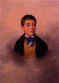 portrait d'un jeune garçon by auguste hesse
