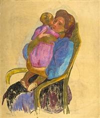 mère et enfant by jean misceslas peské