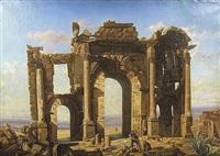 les ruines de timgad by jean-charles geslin