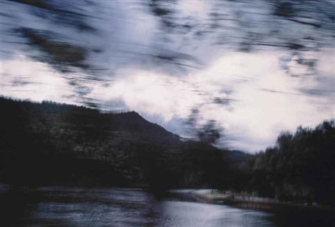 bush landscape australia by nan goldin