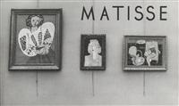 matisse au salon d'automne, 1932 (6 works) by brassaï