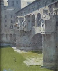 ponte vecchio by norman hepple