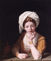 portrait of a lady as the cumaean sibyl by robert home