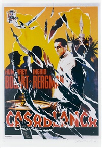 casablanca by mimmo rotella