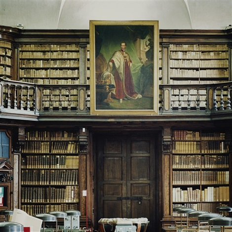 biblioteca di brera milano iv by candida höfer