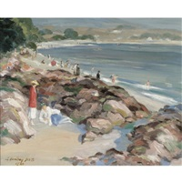 on the shore by a. hamilton scott