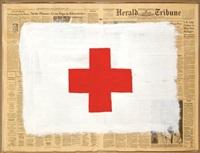red cross by robert longo