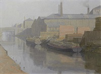 canal scene by john bulloch souter