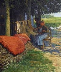 mending the nets by carl hessmert