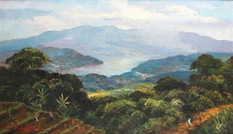 landscape by sudjono abdullah