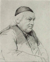 portrait of abbé sartory by orest adamovich kiprensky