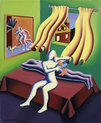 disentanglement by mark kostabi