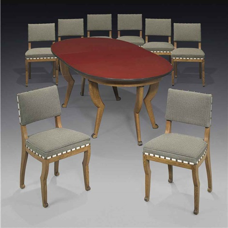 dining suite 9 works by paul dupré lafon