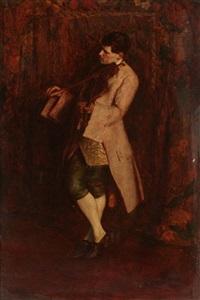the young virtuoso by john seymour lucas