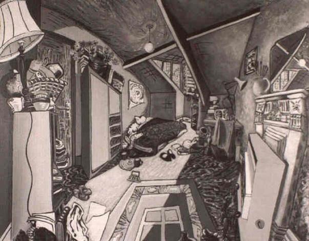 fenham bedroom by anthony lowe
