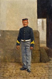 soldat by leon eugene august abry