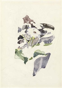 zinnias by charles demuth