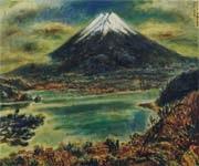 mount fuji by sadao tsubaki