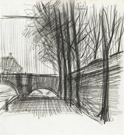 quai de la seine by henri evenepoel