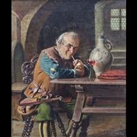 uomo all'osteria by emil kuhlmann-reher