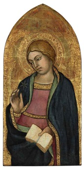 the virgin annunciate by taddeo di bartolo