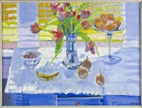 still life, spring light by glen scouller