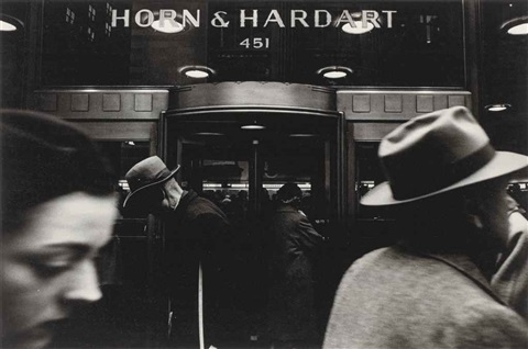 horn hardart by william klein
