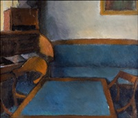 sininen kalusto - möblemang i blått by alvar cawen