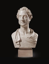 bust of edward, 1st viscount cardwell (1813-1886) by john gibson