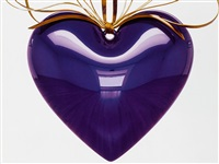 hanging heart by jeff koons