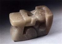 reclining female form by george kennethson