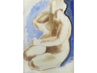 female nude by frank dobson