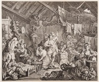 untitled (108 works) by william hogarth