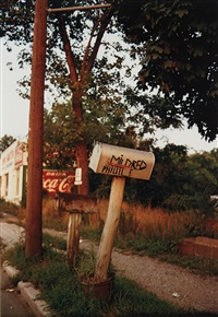 mildred phillips mailbox by william eggleston