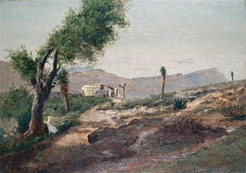 desert scenes pair by townley benson