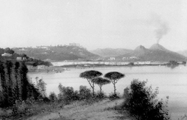 panorama di napoli da posillipo by g corelli