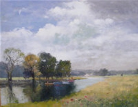river landscape by john ambrose