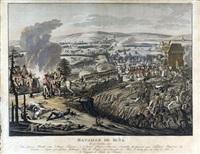 bataille de iena, le 14 octobre 1806 by johann lorenz rugendas the younger