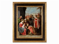 adoration by frans francken the younger