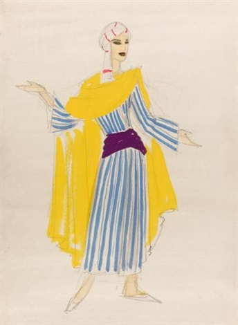collection 18 costume designs thought to be for the revue happy returns 18 works by doris clare zinkeisen