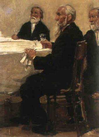au banquet by mikhail artioukhine