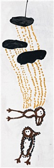 two birds in the rain by patsy lulpunda anguburra