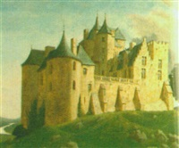 castle in the dordogne by eric hesketh hubbard