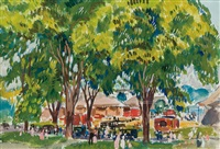 circus day by gifford beal