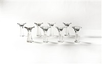 suite de huit bougeoirs modèle 3412 (set of 8) by tapio wirkkala