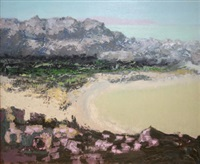 coastal landscape, west of ireland by arthur armstrong