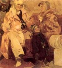 femmes et enfants by evgueni samsonov